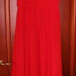 Новое вечернее платье на подкладе, шифон, Новосибирск