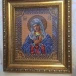 Икона из бисера, Новосибирск