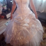 Продам свадебное платье со всеми аксессуарами к нему!, Новосибирск