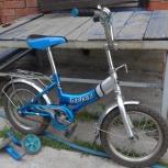 Продам детский велосипед Байкал с доп. мал. колесами, Новосибирск