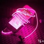 Светящиеся наушники glow+ бесплатная доставка, Новосибирск