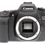 Зеркальная камера canon eos 70d body новая, Новосибирск