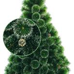 Искусственные новогодние ёлки (скидка 33%) + гирлянда в подарок!, Новосибирск