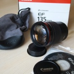 Продам объектив Canon EF 135mm f 2L usm, Новосибирск