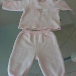 Продам тепленький нежно розовый костюмчик, Flexi, 12 месяцев, Новосибирск