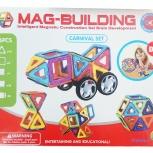 Магнитный конструктор Mag-Building 36 деталей, Новосибирск
