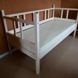 Кроватка детская 70Х160 и 70Х140  см. Есть матрасики, Доставка!, Новосибирск