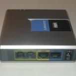 Телефонный адаптер (шлюз) Linksys SPA2102-EU, Новосибирск