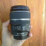 Продам объектив Canon ef-s 17-85mm f/4-5.6 is usm, Новосибирск