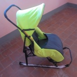 Продам санки-коляски в отс с 2 колесиками, Новосибирск