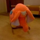 Слон качалка, Новосибирск