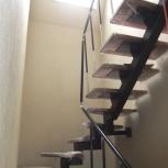 """Лестница на металлическом каркасе """"под ключ"""". Ограждения, ворота, Новосибирск"""