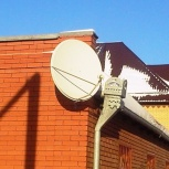 Установка, ремонт  антенн Триколор, Телекарта, Новосибирск