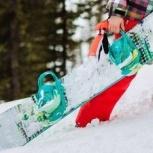 Комплект сноуборд + крепления, Новосибирск