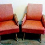Красно-розовые кресла, советские, Новосибирск