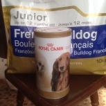 Royal Canin для щенка французского бульдожки 5 кг, Новосибирск