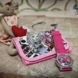 Монстр Хай! Детские кварцевые часы + кошелечек!, Новосибирск