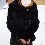 Продам норковую стриженную шубу, Новосибирск