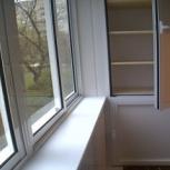 Остекление и обшивка балконов и лоджий. Рассрочка без переплаты, Новосибирск
