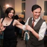 Учим танцевать под джазовую музыку - парные танцы для взрослых, Новосибирск