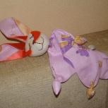 Первая игрушка малыша, комфортер зайка, Новосибирск