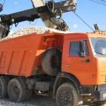 Доставка щебня, песка, отсева, чернозема и т.д, Новосибирск