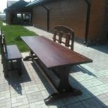 Мебель из дерева лавки, стулья, столы, тумбы, каче, Новосибирск