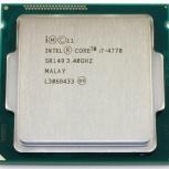 Процессор Intel Core i7-4770, Новосибирск