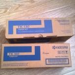 Продам ориг. картридж Kyocera тк-130, 160 новые, Новосибирск