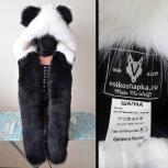 Шапка волкошапка Панда, Новосибирск