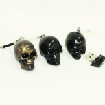 Оригинальная USB флешка-череп 8 Gb, Новосибирск