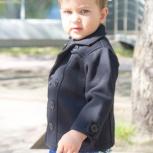 Классическое пальто для мальчика от 2-х до 4-х лет, Новосибирск
