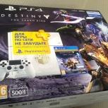 Новая Sony PlayStation 4 500Gb Destiny LE, Новосибирск