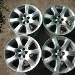 Продам оригинальные литые диски Toyota Avensis R17., Новосибирск