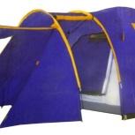 Палатка 4 местная новая с тамбуром два слойная, Новосибирск