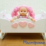 Кроватка для кукол, Новосибирск