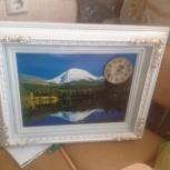 Часы Картина, Новосибирск