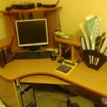 Стол угловой компьютерный б/у, Новосибирск