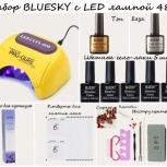 Профессиональный набор BLUESKY C LED лампой 48w, Новосибирск