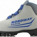 Ботинки для беговых лыж Nordway Narvik детские, Новосибирск
