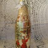 Оформление бутылок на свадьбы, юбилеи, Новосибирск