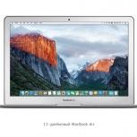 Ноутбук Apple MacBook Air 13 Early 2015 Intel Core i5-5250U X2, Новосибирск