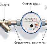Замена и установка счетчиков воды в Новосибирске, Новосибирск