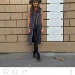 Жакет, жилет из замши, Новосибирск