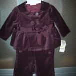 Шикарный костюм для малышки 4-8мес, Новосибирск