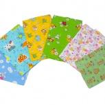 Новые пеленки, одеяла, подушки, КПБ, для купания детей, Новосибирск