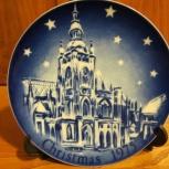 Тарелка рождественская Германия, Новосибирск