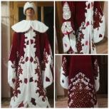 Продам бархатный костюм Деда Мороза, Новосибирск