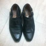 Продам туфли-казаки мужские, Новосибирск