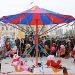 Карусель, аттракцион для детей, Новосибирск